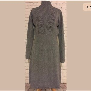Simply Couture women's large gray sweater dress